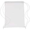 Átlátszó PVC tornazsák, fehér