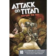 Attack On Titan: Before The Fall 10 – Hajime Isayama idegen nyelvű könyv