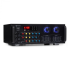 Auna Amp-Pro1 BT, PA erősítő, RMS 2 x 50 W, BT, USB, SD,2-csatornás 7-sávos equalizer
