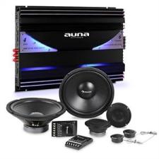 Auna CS Comp 12, HiFi összeállítás autóba, hangfalak teljes készlete/hatcsatornás végerősítő, 570 W RMS autós erősítő