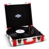 Auna Jerry Lee, retró lemezjátszó, LP, USB, fehér