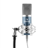 Auna MIC-900BL, kék, USB, kondenzátoros mikrofon, kardioid, stúdió