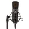 Auna MIC-920B USB kondenzátor mikrofon, stúdió, USB, nagymembrános mikrofon, fekete