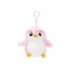 Aurora PomPom pingvin, rózsaszín táskadísz Aurora