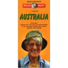 Ausztrália térkép - Nelles térkép