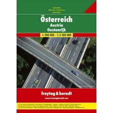 Ausztria autóatlasz - f&b OEAA térkép