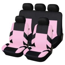 Autófejlesztés Univerzális üléshuzat garnitúra fekete-világos rózsaszín (osztható) Exlusive