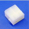 AVC Műanyag csatlakozó ház 4 pólusú 6,3 mm csúszósarukhoz - apa
