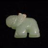 Aventurin elefánt medál