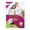 Avery Textilre vasalható fólia AVERY C9405-4HU világos inkjet nyomtatóhoz (4ív/doboz)