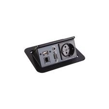 AVS Asztalba süllyeszthető kábelrendező R2-J3 audió/videó kellék, kábel és adapter