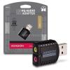 AXAGON ADA-17 USB Mini Stereo HQ Audio Adapter (ADA-17)
