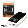 AXAGON cre-x1 fekete-fehér kártyaolvasó
