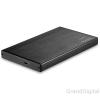 AXAGON EE25-XA USB 2.0 fekete külső alumínium HDD/SSD ház