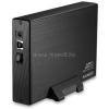 """AXAGON EE35-XA3 USB 3.0 fekete külső alumínium 3,5"""" HDD ház (EE35-XA3)"""