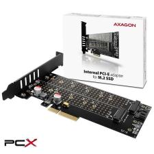 AXAGON pcem2-d pcie nvme+ngff m.2 adapter vezérlőkártya