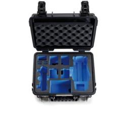 B&W koffer 3000 fekete DJI Mavic 2 (Pro/Zoom) modellhez rc modell kiegészítő