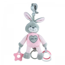 BABY MIX   Nem besorolt   Vibrálós gyerek plüss játék Baby Mix nyúl rózsaszín   Rózsaszín   plüssfigura