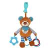 BABY MIX Vibrálós gyerek plüss játék Baby Mix maci kék | Kék |