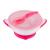 Baby Ono Gyermek csúszásgatló tál és kanál Baby Ono rózsaszín   Rózsaszín  