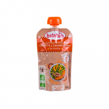Babybio Babybio Bio borsós-répás ebéd kacsával 120 g bébiétel