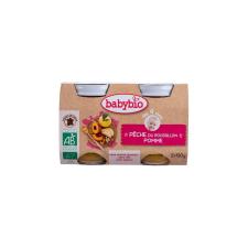 Babybio Bio őszibarackpüré almával 2 * 130 g bébiétel