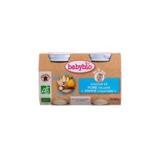 Babybio Bio tejszínes körtés-almás püré 2 * 130 g bébiétel