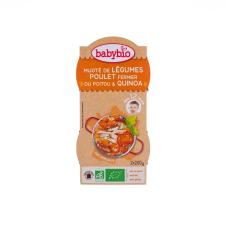 Babybio Bio zöldséges-csirkés ínyencség quinoával 2 x 200 g bébiétel