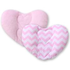 BabyLion BabyLion Prémium Szív párna - Rózsaszín cikk-cakk