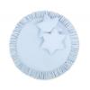 BabyLion BabyLion Prémium Textil játszószőnyeg - párnákkal - Kék