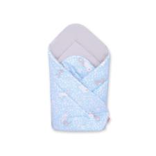BabyLion Prémium pólya - Kék nyuszik pólya