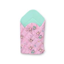 BabyLion Prémium pólya - Menta - Rózsaszín baglyok pólya