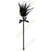 Bad Kitty Cirógató valódi tollakkal - fekete