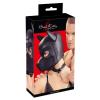 Bad Kitty - neoprén női kutya maszk (fekete)
