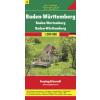 Baden-Württemberg (Németország 3) térkép - f&b AK 0213