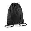 Bag Base Tornazsák tornatáska Hátizsák Bag Base Premium Gymsac - Egy méret, Fekete