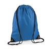 Bag Base Tornazsák tornatáska Hátizsák Bag Base Premium Gymsac - Egy méret, Zafírkék