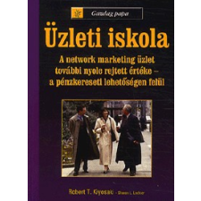 Bagolyvár Könyvkiadó GAZDAG PAPA - ÜZLETI ISKOLA gazdaság, üzlet