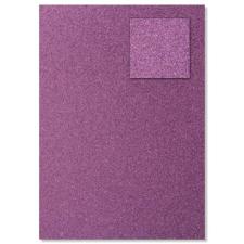 Baier & Schneider GmbH & Co.KG Heyda csillámkarton, A4, 200g/m2, pink kreatív papír
