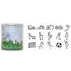 Baier & Schneider GmbH & Co.KG Heyda nyomda szett (15db+1db tintapárna) foci, építkezés