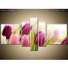 Balkys Trade Nyomtatott kép Színes finom tulipánok 160x80cm 2125A_5J