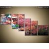 Balkys Trade Nyomtatott kép Színes táj Japánban 220x100cm 2129A_6D