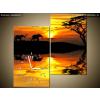 Balkys Trade Órás kép Afrika 60x60cm ZP2025A_2J