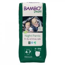 Bambo Dreamy éjszakai pelenka, Fiú 35-50 kg, 10 db pelenka