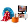 Barbie bútorok és kiegészítők: nappali