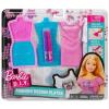 Barbie divattervező sablonok, bagoly és csillag mintával