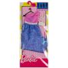 Barbie: rózsaszín-lila ruha táskával és nyaklánccal