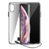 Baseus Átlátszó kulcs tok iPhone XS Max fekete (WIAPIPH65 - QA01) tok telefontok hátlap