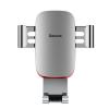 Baseus Metal Age autós telefontartó szellőzőrácsra Baseus - Ezüst