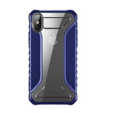 Baseus Michelin telefontok hátlap tok tervező Cover Apple iPhone XS Max kék (WIAPIPH65-MK03) tok és táska